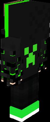 zielono czarny vertez
