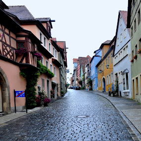 Rothenburg ob der Tauber, Germany by Albina Jasinskaite - City,  Street & Park  Neighborhoods (  )