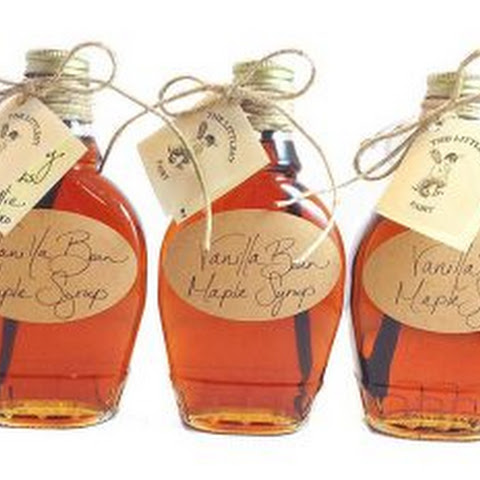 Vanilla Bean Maple Syrup
