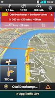 Screenshot of Garmin HUD North America