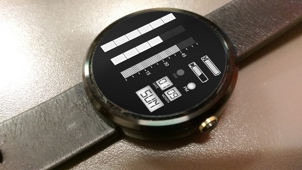 Time Gauge Watch Faces Screenshot 2