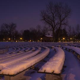 Bundek in winter by Nena Volf - City,  Street & Park  City Parks ( winter, park, croatia, bundek, zagreb )