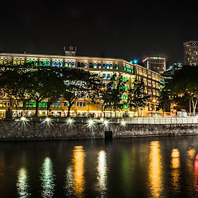 Clark Quay, Singapore. by Joon Ming - Buildings & Architecture Architectural Detail