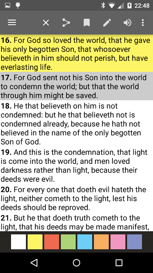 Bible Offline PRO Screenshot 1