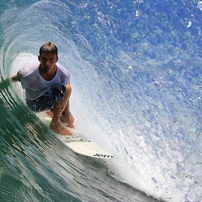 Randy Townsend  by Trevor Murphy - Sports & Fitness Surfing ( surfing, costa rica )