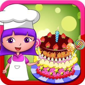 Dora birthday cake bakery shop For PC (Windows & MAC)