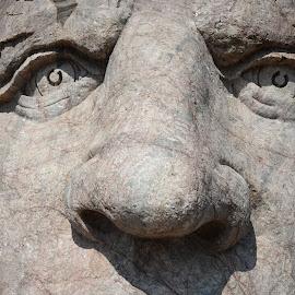 Crazy Horse by Scott Thiel - Buildings & Architecture Statues & Monuments ( sculpture, monument, south dakota, crazy horse, usa )
