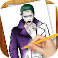 Download Learn To Draw Suiside Squad APK on PC