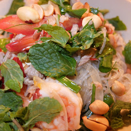 Mix Seafood Salad - Thai Style by Beh Heng Long - Food & Drink Plated Food ( thailand food )