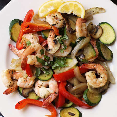 Shrimp Stir Fry with Vegetables