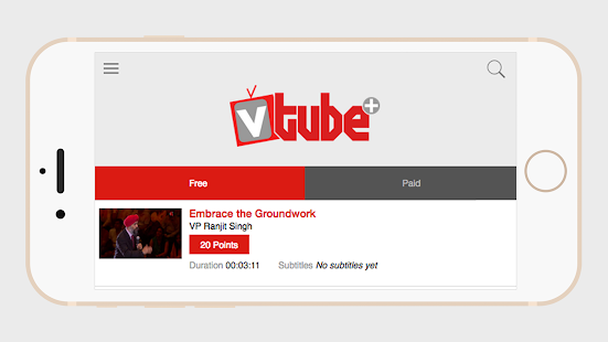 VTube+ - screenshot