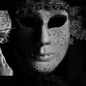 The Masquerade by Yogesh Seenivasan - Artistic Objects Other Objects ( venetian masks, composite image, masquerade, mask, photoshop )