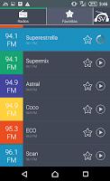Screenshot of Radios de El Salvador Radio SV