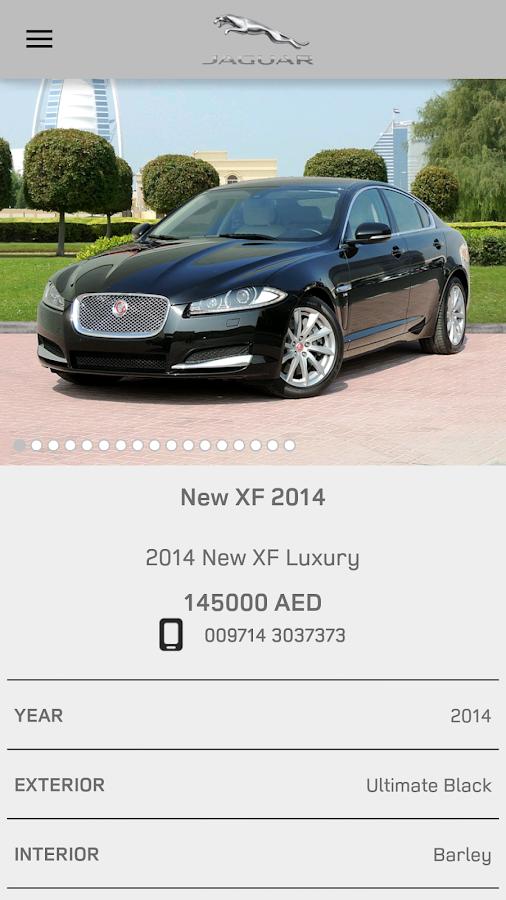 Jaguar APPROVED CARS MENA Screenshot 4