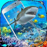 3D Ocean Shark Theme(shake&get effect) Icon