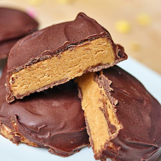 Better than Reese's Chocolate Covered Peanut Butter Eggs