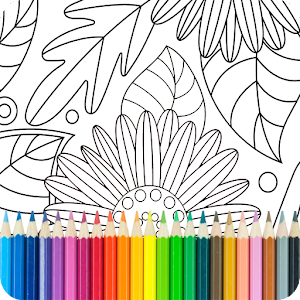Coloring Book for Adults For PC