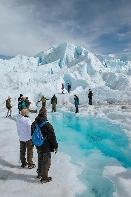 Fresh glacier water