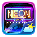 Neon GO Weather Widget Theme APK for Ubuntu