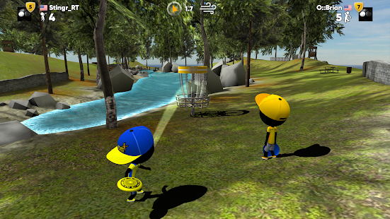 Stickman Disc Golf Battle