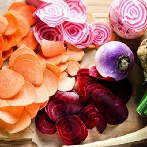 Low carb Baked Vegetable Chips Snack