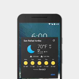 Now Weather for Chronus/CLock- screenshot thumbnail