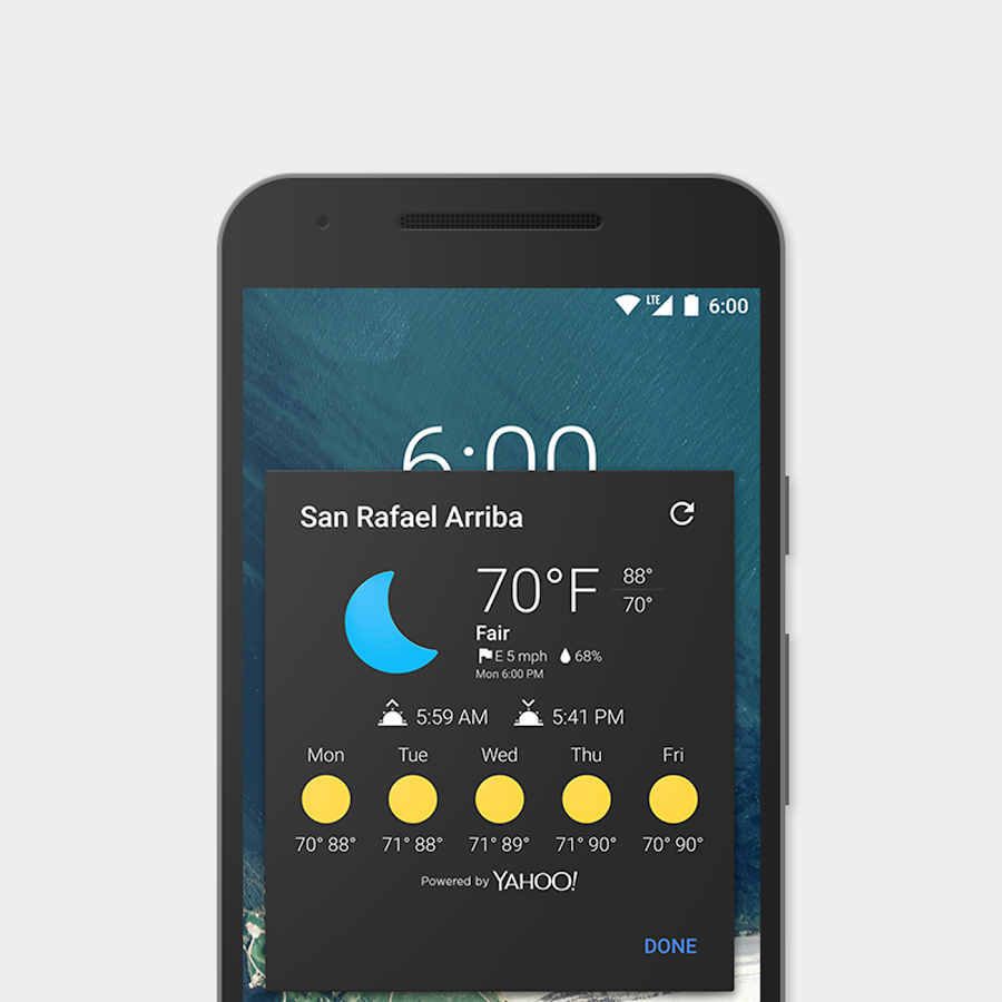 Now Weather for Chronus/CLock Screenshot 2