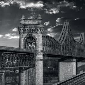 ANHGHEL SALIGNY BRIDGE  by Adrian Penes - Buildings & Architecture Bridges & Suspended Structures ( structure, arhitecture, romania, cernavoda, bridge )