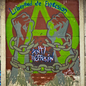 Graffitti 1 by Andro Zeledón - City,  Street & Park  Street Scenes ( san jose, street art, graffitti, costa rica, arte callejero, puriscal )