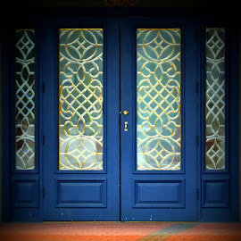 Blue Doors by Rhonda Kay - Buildings & Architecture Other Exteriors