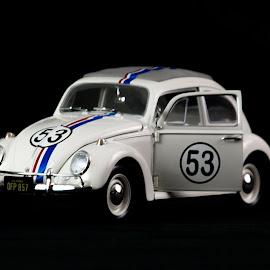 Full On Herbie by Randell Whitworth - Transportation Automobiles ( vw, toy, bug, herbie )