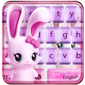 Lovely rabbit keyboard For PC