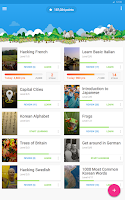 Screenshot of Memrise Learn Languages Free