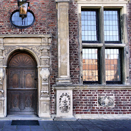 Schloss Reasveld entrance by Anita Berghoef - Buildings & Architecture Architectural Detail ( raesveld, window, door, architectural, germany, schloss raesveld, windows, architectural detail, architecture, entrance )