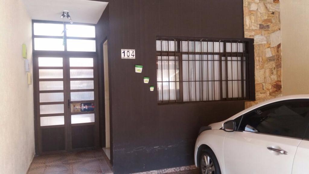 Sobrado residencial à venda, Parque Continental I, Guarulhos