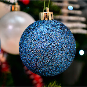 sparkly bauble by Nic Scott - Public Holidays Christmas ( bauble, decoration, christmas,  )