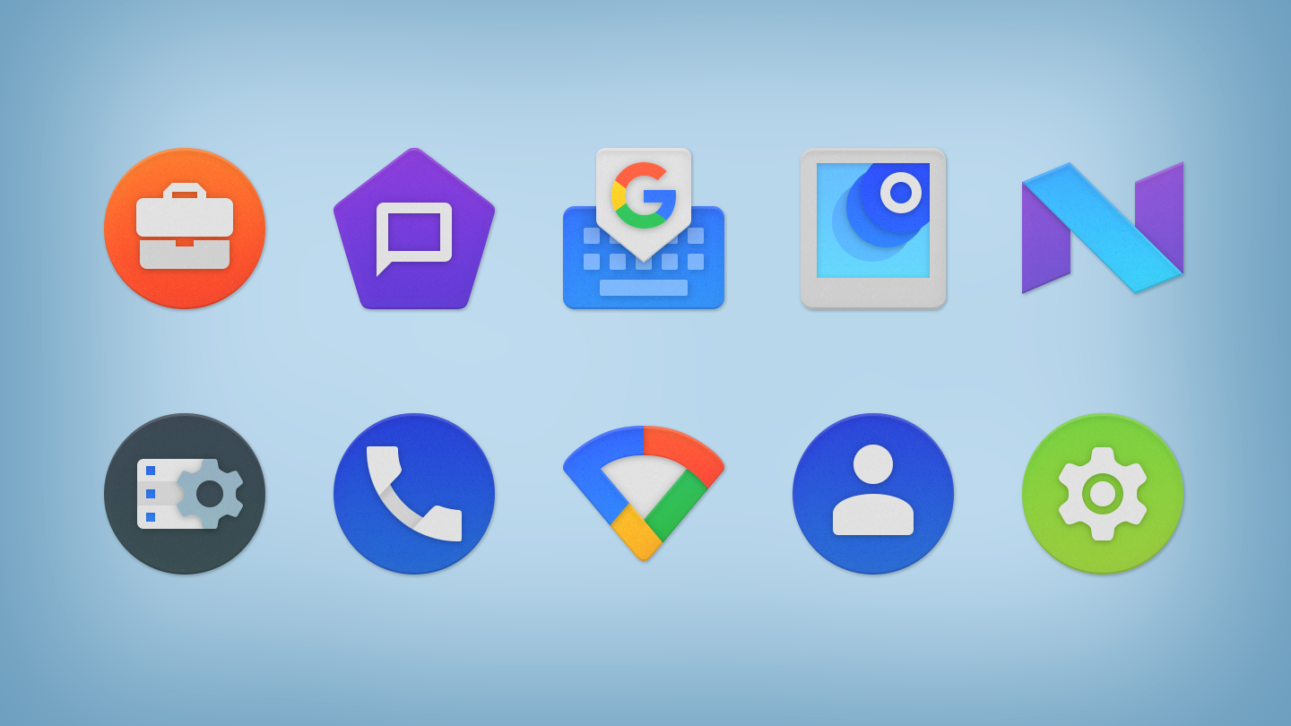 NOU - Icon Pack Screenshot 19