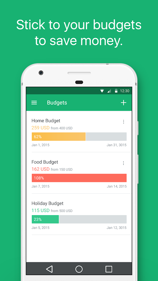 Spendee - budget and expense tracking & bank sync Screenshot 3