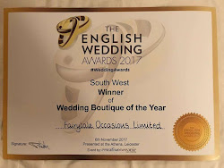The English Wedding Awards Regional Winner South West