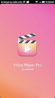 Screenshot of Video Player Pro for Android