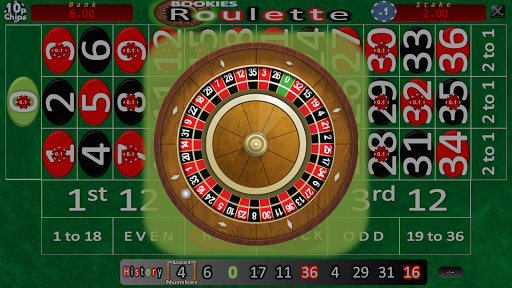 Bookies Roulette Simulation - screenshot