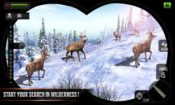 Sniper Deer Hunting Modern FPS Shooting Game APK screenshot thumbnail 2
