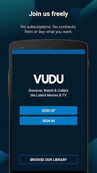 Vudu Movies & TV APK screenshot thumbnail 3