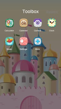 Princess Castle Launcher Theme APK screenshot thumbnail 3