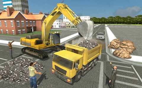 Up Hill Crane Cutter Excavator APK