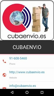 Cubaenvio - screenshot