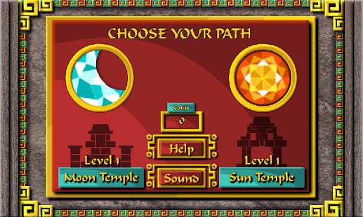 Two Temple Solitaire Card Game - screenshot