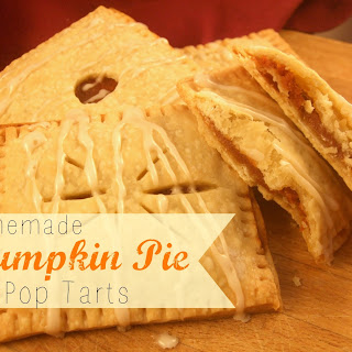 Homemade Pumpkin Pie Pop Tarts