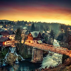 Fairy Tale by Vedran Bozicevic - City,  Street & Park  Vistas ( vistas, rastoke, hdr, colorful, travel, landscape,  )