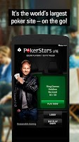 Screenshot of PokerStars Poker: Texas Holdem